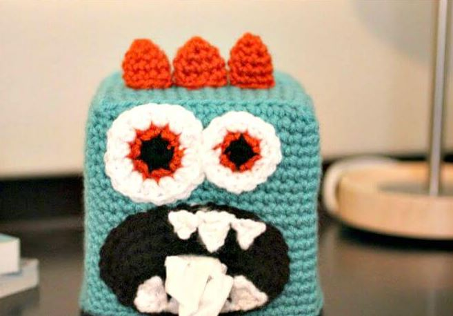 21 Crochet Tissue Box Cover Patterns