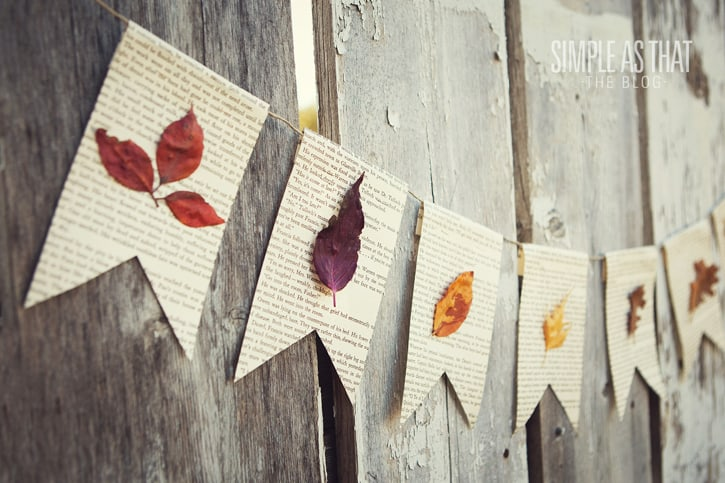 Make A Lovely Things Using Fall Leaves