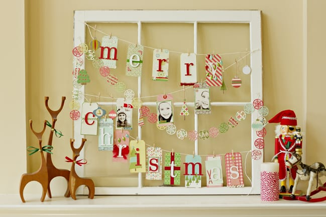 12 Cool DIY Christmas Window Decorations