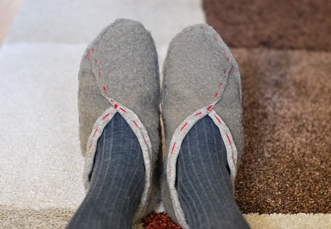 12 Unique DIY Slippers For Fall