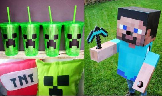 15 Awesome DIY Minecraft Ideas