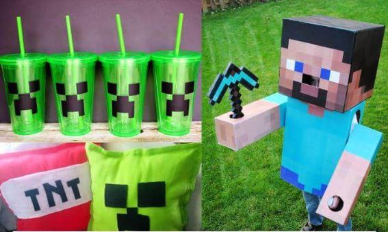 15 Awesome DIY Minecraft Ideas