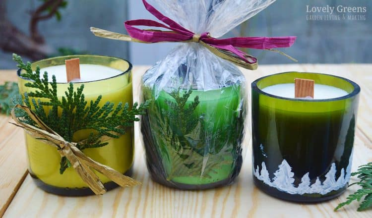 14 Fancy DIY Winter Candle Ideas