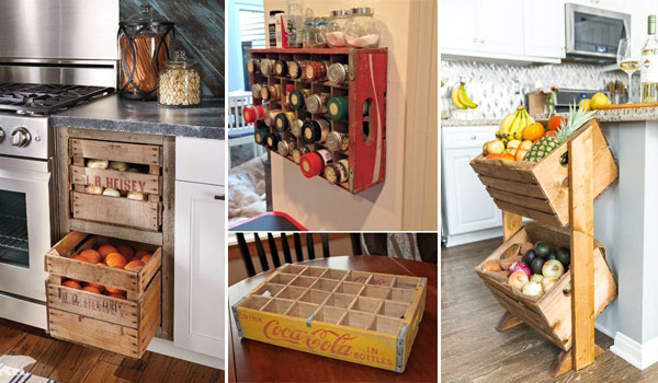 How To Style A Wooden Crate