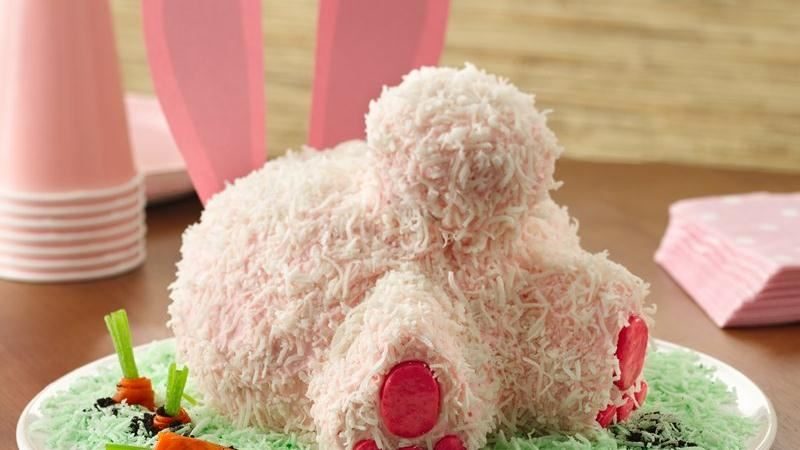 27 Amazing DIY Easter Bunny Cakes