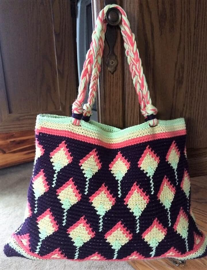 13 Free Crochet Bags Patterns