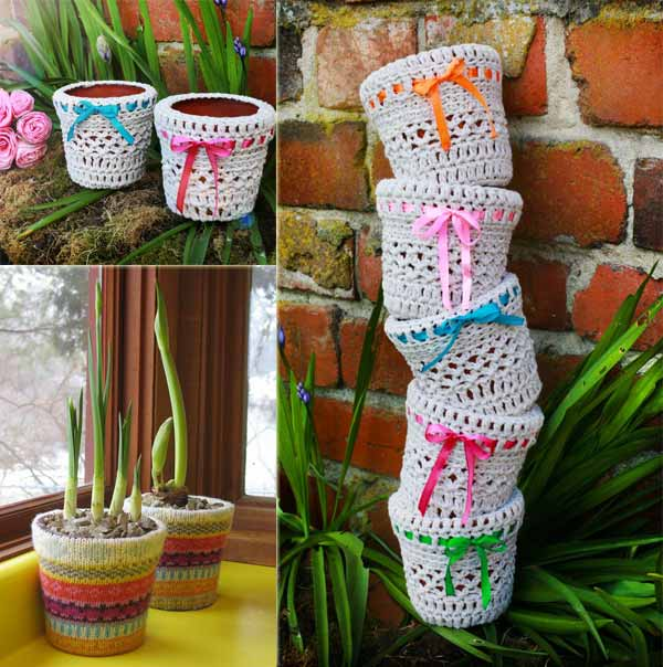 15 Amazing Ways To Decorate Your Flower Pots