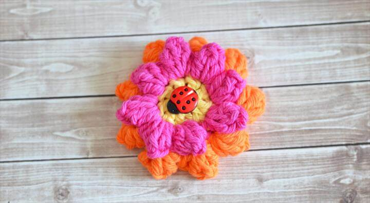 20 Cool And Easy Crochet Flower Patterns