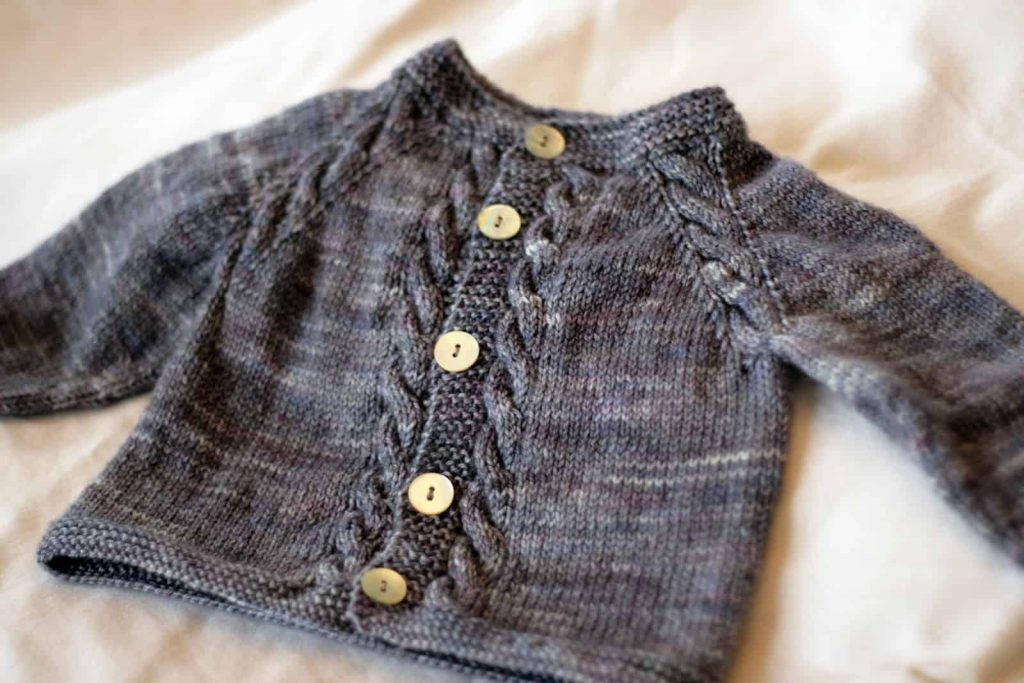 15 Amazing Knitted Baby Sweater Patterns