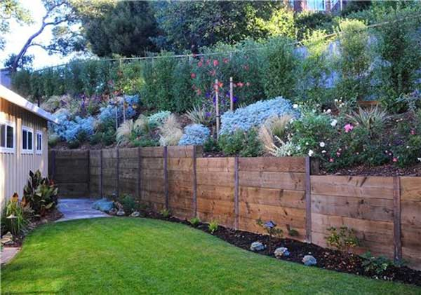 20 Amazing Ideas For Building A DIY Retaining Wall