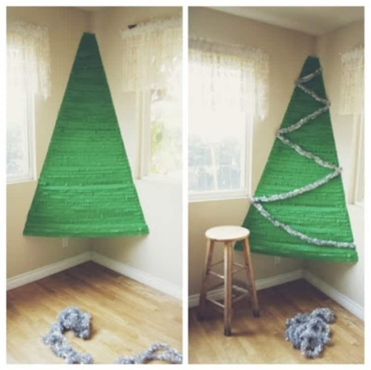 15 Awesome DIY Alternative Christmas Trees