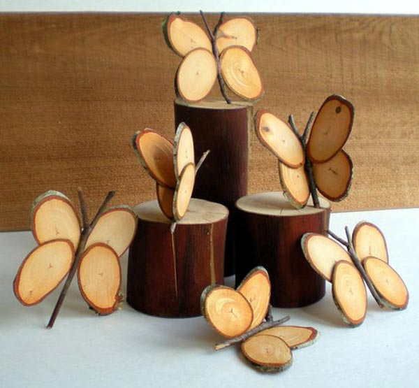 15+ Awesome Ingenious Projects With Sliced Logs