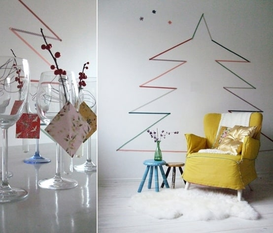 15 Cool DIY Christmas Tree Ideas
