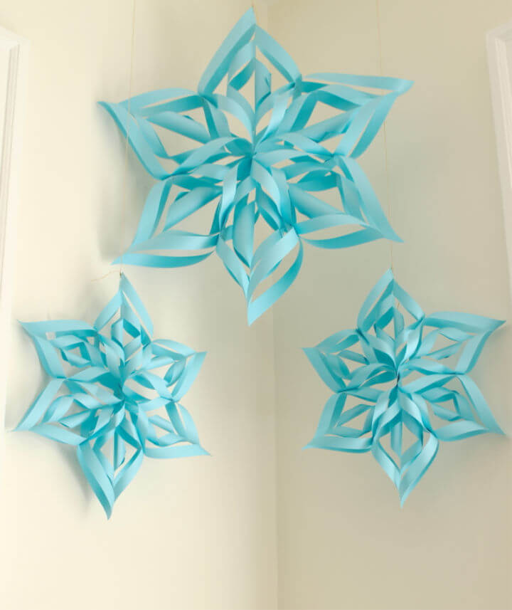 30 Easy DIY Paper Snowflake Patterns