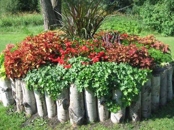 30 Amazing Garden Bed Edging Ideas