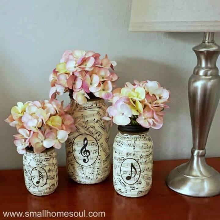 20 Amazing Mod Podge Fabric Jars