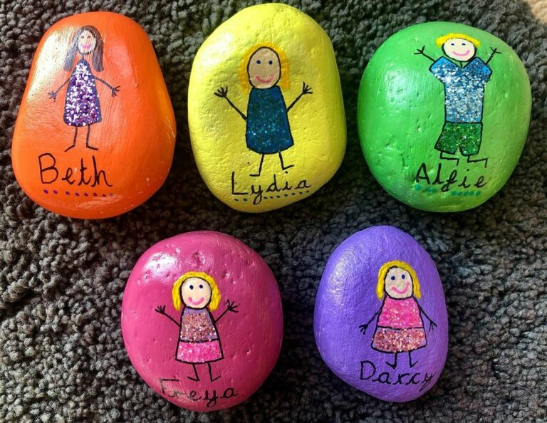 22 Awesome Rock Painting Ideas