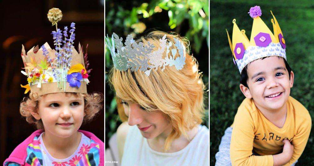 16 Amazing DIY Paper Crown Patterns