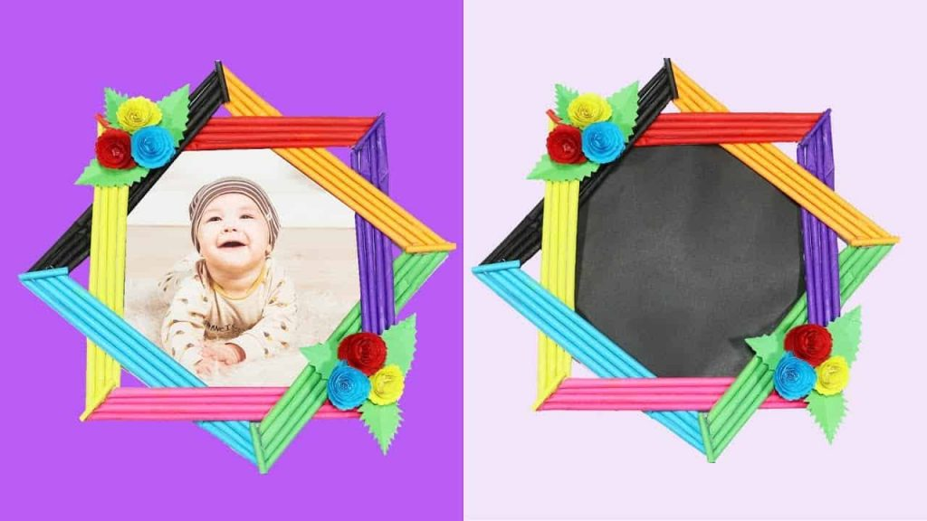 15 Cool DIY Picture Frames