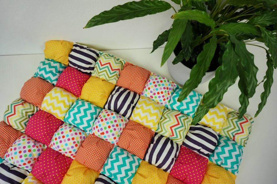 10 Free Puff Quilt Patterns