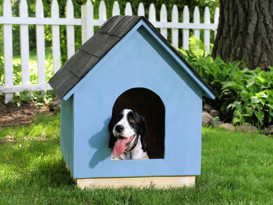 25 Free DIY Dog House Plans