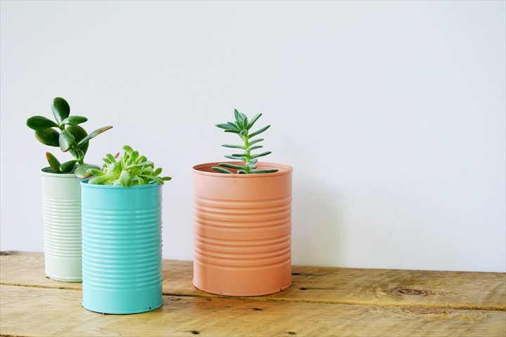 27 Creative DIY Tin Can Ideas