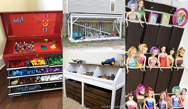 14 Cheap DIY Toy Storage Ideas