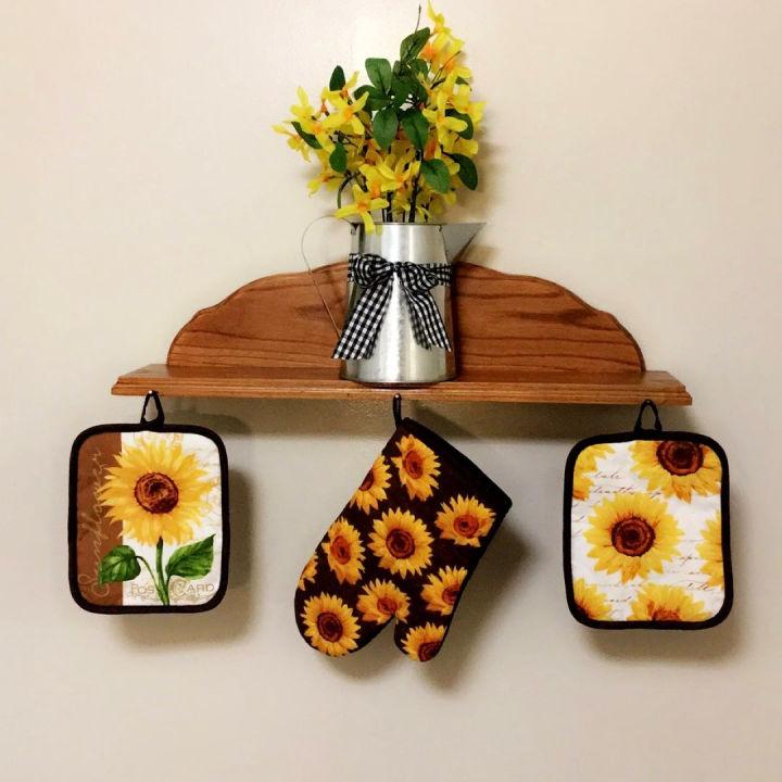 20 Amazing DIY Sunflower Kitchen Ideas