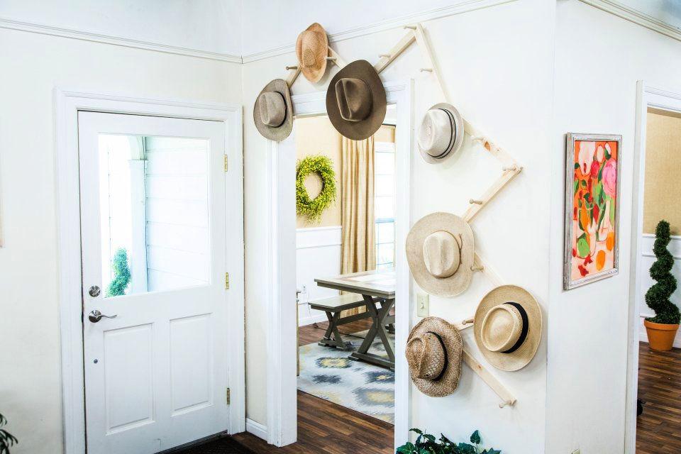 25 Amazing DIY Hat Rack Ideas