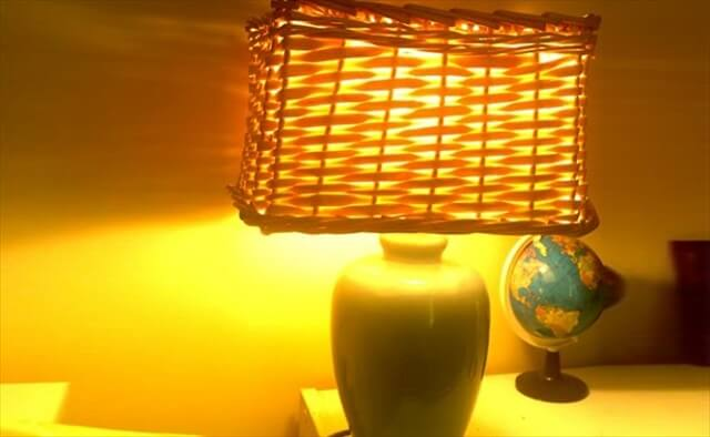 20+ Cool DIY Lampshade And Lamp Ideas