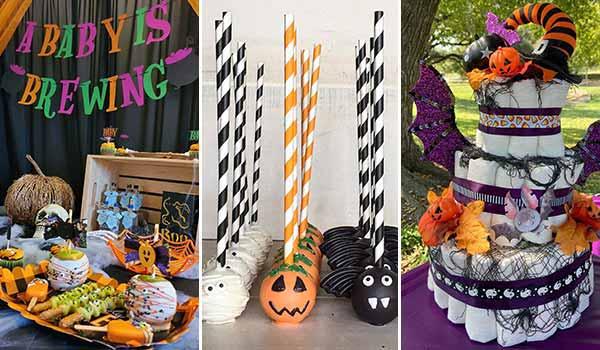 20 Creative Halloween Baby Shower Ideas