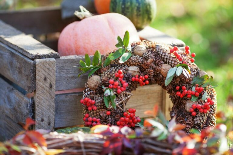 20+ DIY Thanksgiving Fall Wreaths